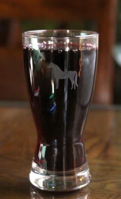 English Pint Glass with Logo  beer-glass.jpg