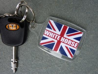 White Horse Key Ring p1030693.jpg