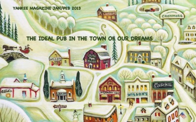 Jan/Feb 2013 YANKEE MAGAZINE - OUR IDEAL PLACE IN THE TOWN OF OUR DREAMS