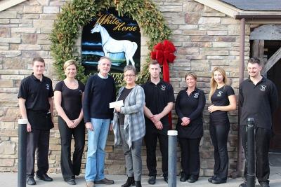 THE WHITE HORSE DONATES - Danbury News Times